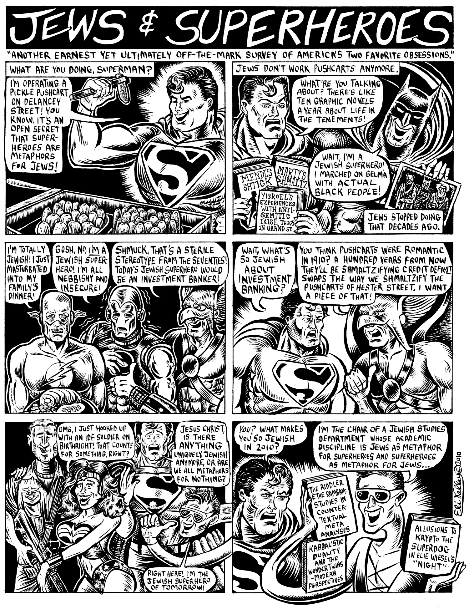 Jews And Superheroes. Shofar, Winter 2011