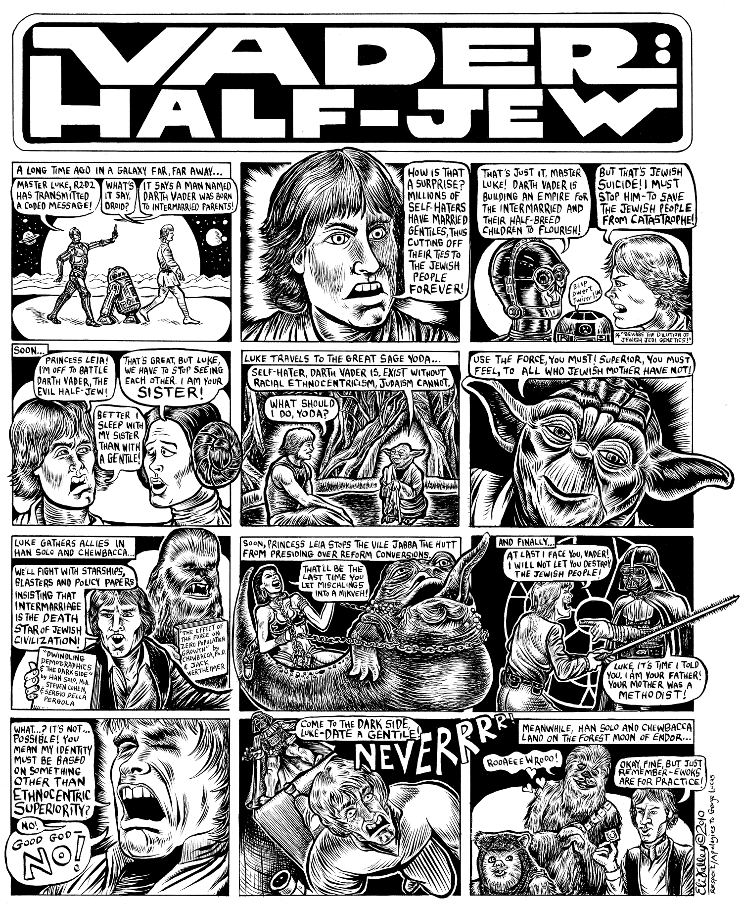 Vader: Half-Jew: Intermarriage. Forward, 3/25/10