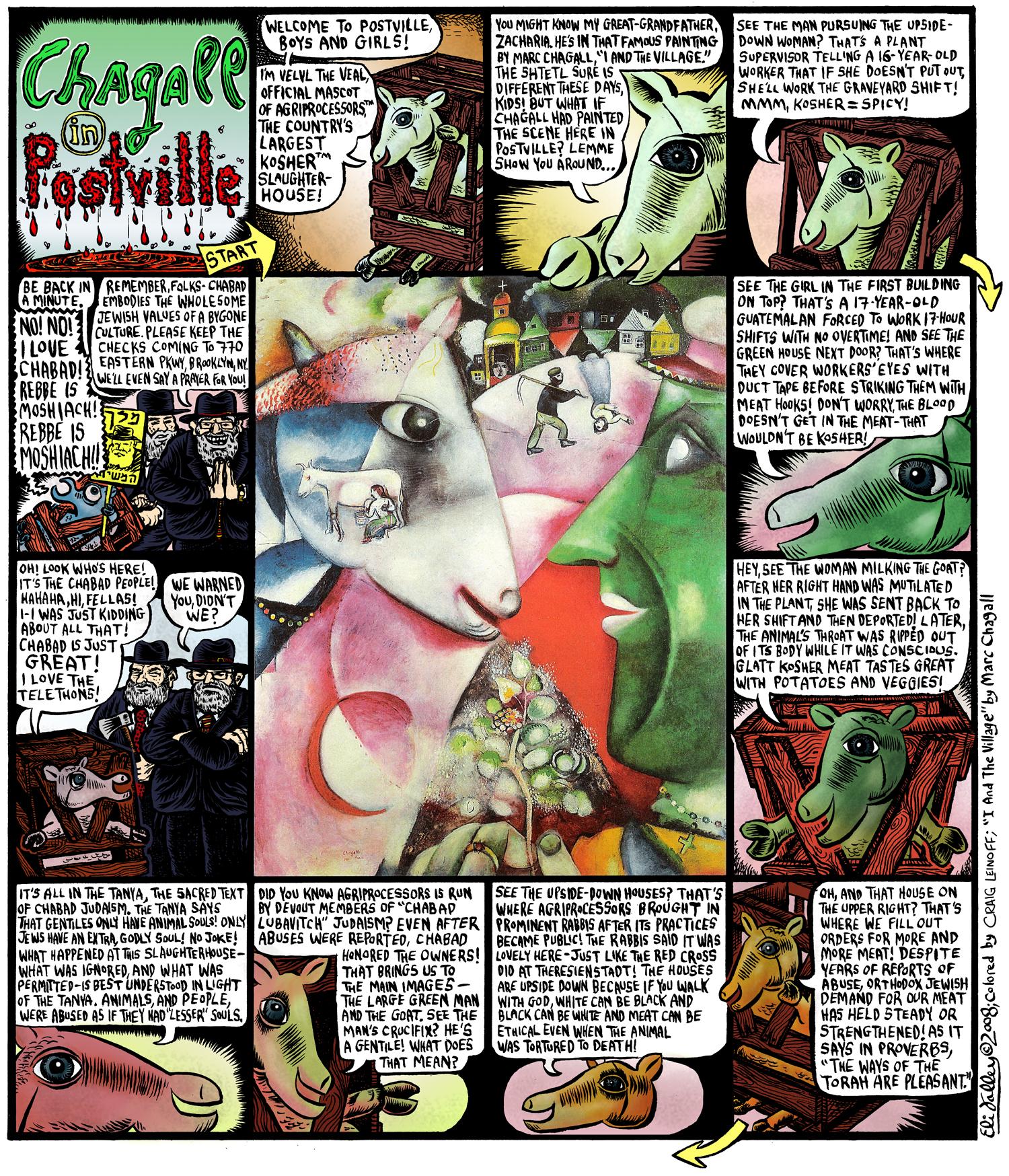 Chagall In Postville: Agriprocessors Slaughterhouse, Rubashkin. Jewcy, 12/8/08
