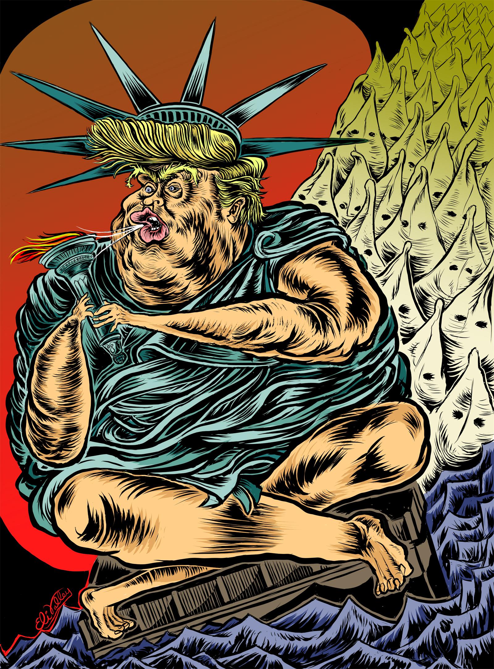Trump Lady Liberty, 11/30/16