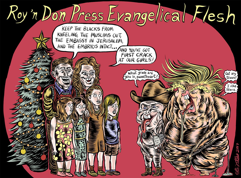 Roy Moore & Donald Trump, 12/11/17