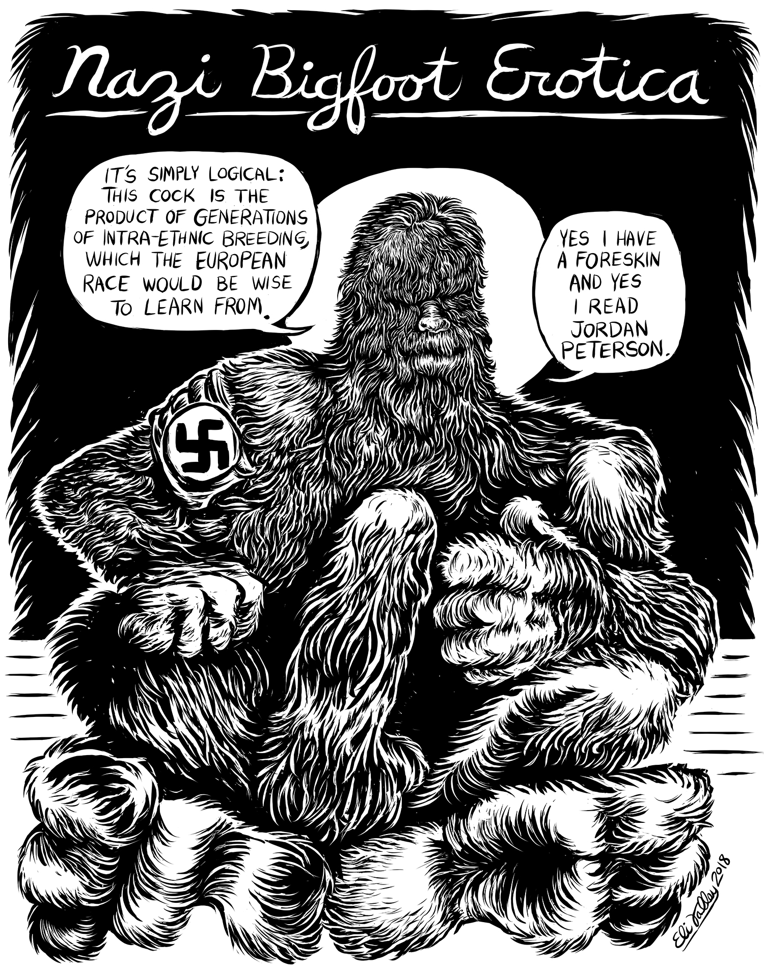 Nazi Bigfoot Erotica, 7/30/2018