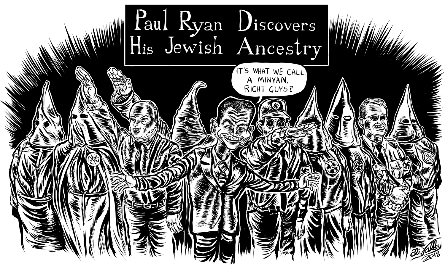 Paul Ryan Jewish Ancestry, Jewish Currents, 8/3/2918