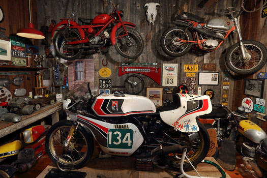 """The """"Barn Find"""" room"""