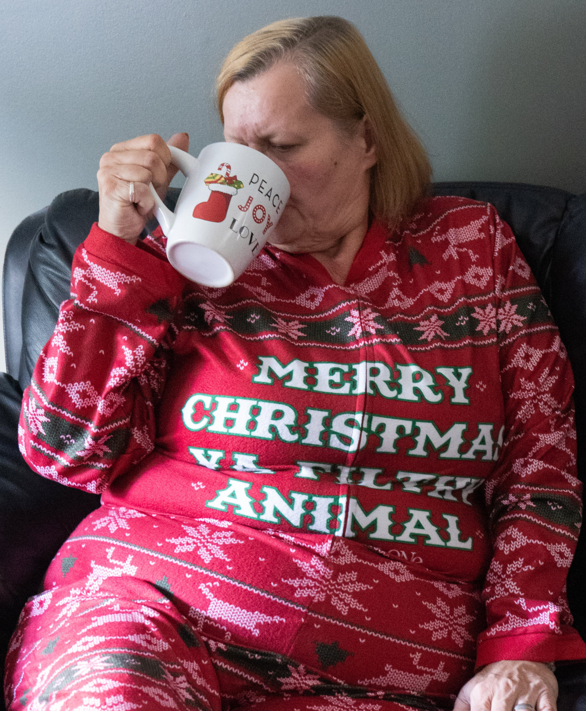 So comfy, I could live my Home Alone Onsie all day long!
