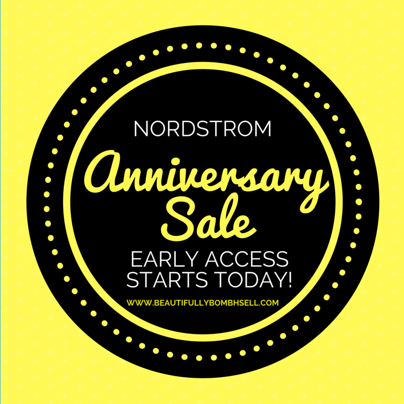 Nordstrom Credit/Debit Cardholders get exclusive early access to the Anniversary Sale. Exclusions Apply. Ends July 21st! Free Shipping! Free Returns!