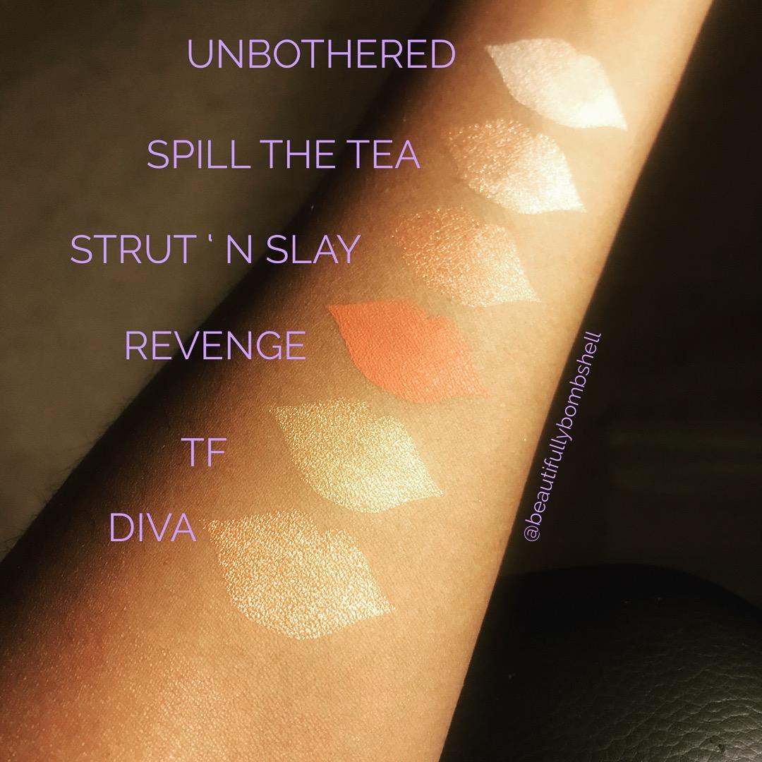 makeup shayla colourpop perception eyeshadow palette swatches