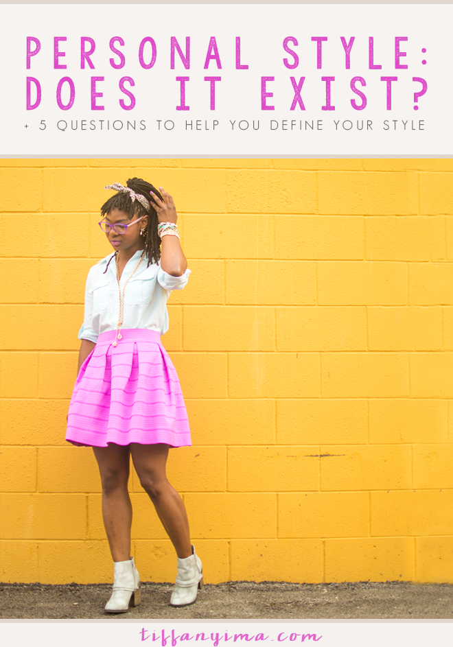 """We live in a time where fashion is fast, the hottest trends dominate our internet feeds and Pinterest pages, and we look to others for guidance on style. This reality leaves me asking, """"Does Personal Style Exist?"""