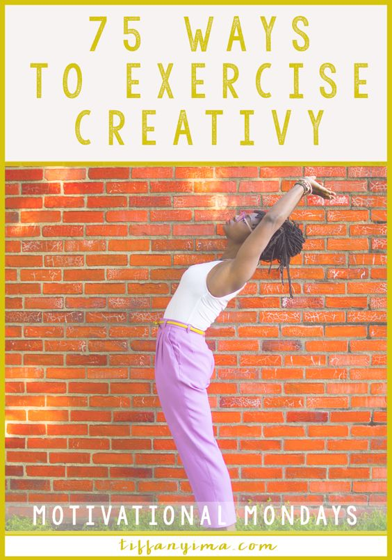 Creativity is the very fiber of progression. We need it to solve problems, create new products and blog posts and to constantly produce growth.