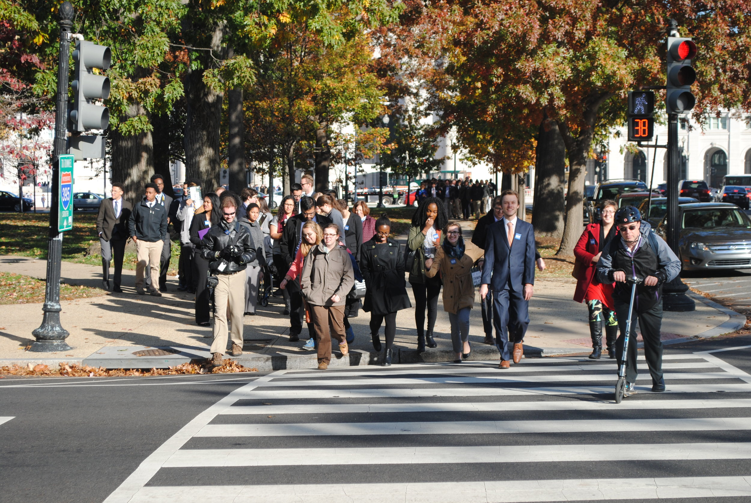 Students participate in advocacy efforts in Washington, D.C.