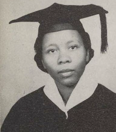 Ms. Fannie Motley, almunus of 1956