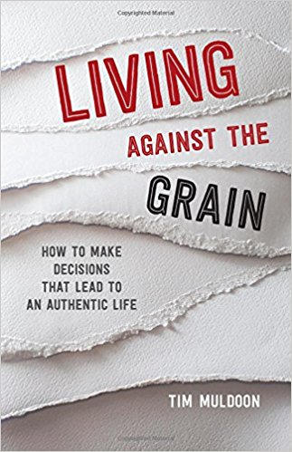 "Living Against the Grain: How to Make Decisions that Lead to an Authentic Life   ,       by Tim Muldoon   Timothy P. Muldoon, Assistant to the Vice President for Mission and Ministry at Boston College, is a pastoral theologian and frequent author.  His Living Against the Grain: How to Make Decisions that Lead to an Authentic Life  is a new release from Loyola Press. The back cover explains the book's purpose: ""Today's popular culture thrives on telling us what we should do and who we should be. We need to have the prestigious job, the perfect relationship, the jam-packed social life, and we need to show it all off on social media."" And it goes on to ask: ""Can achieving those things provide the fulfillment that we all long for? Is there something bigger and better out there waiting for us?"""