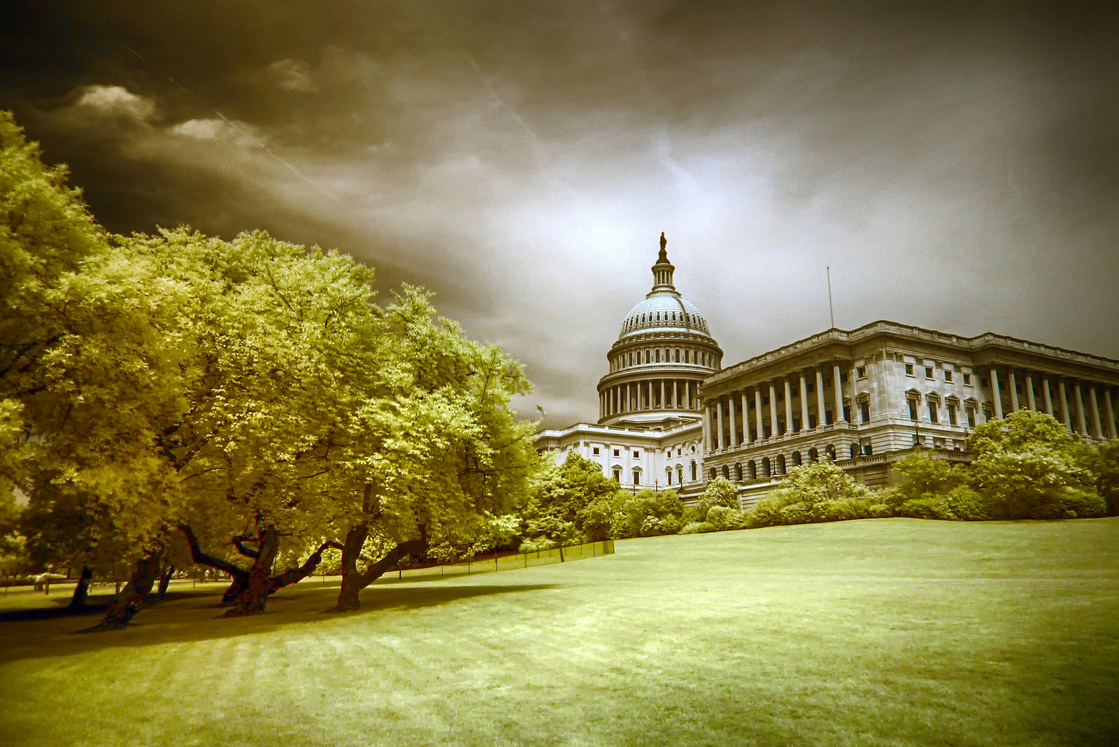 """Hill,"" a photo of the U.S. Capitol, courtesy of  Zach Stern  of the Flickr Creative Commons."
