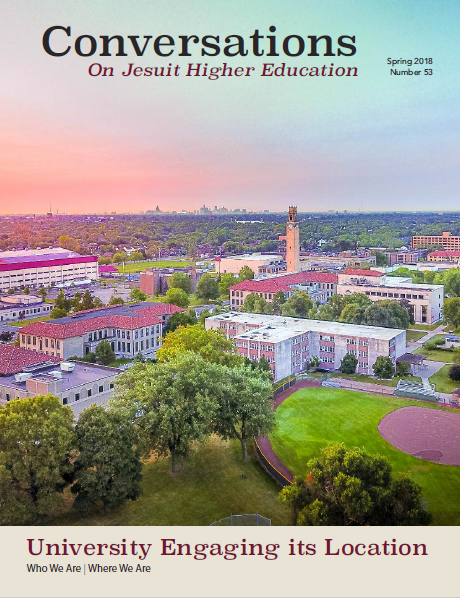 Front Cover: University of Detroit Mercy, McNichols campus, early in the morning. Photo by Anthony Laszlo, a dental student at Detroit Mercy.    Click to download PDF