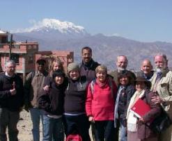 Saint Joseph's University and Fe y Alegria – Bolivia partnership and past delegates.