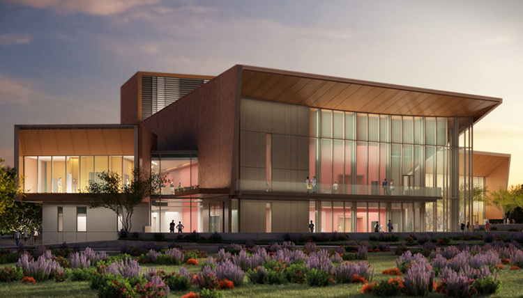 The Myrtle Woldson Performing Arts Center. Photo courtesy of Gonzaga University.