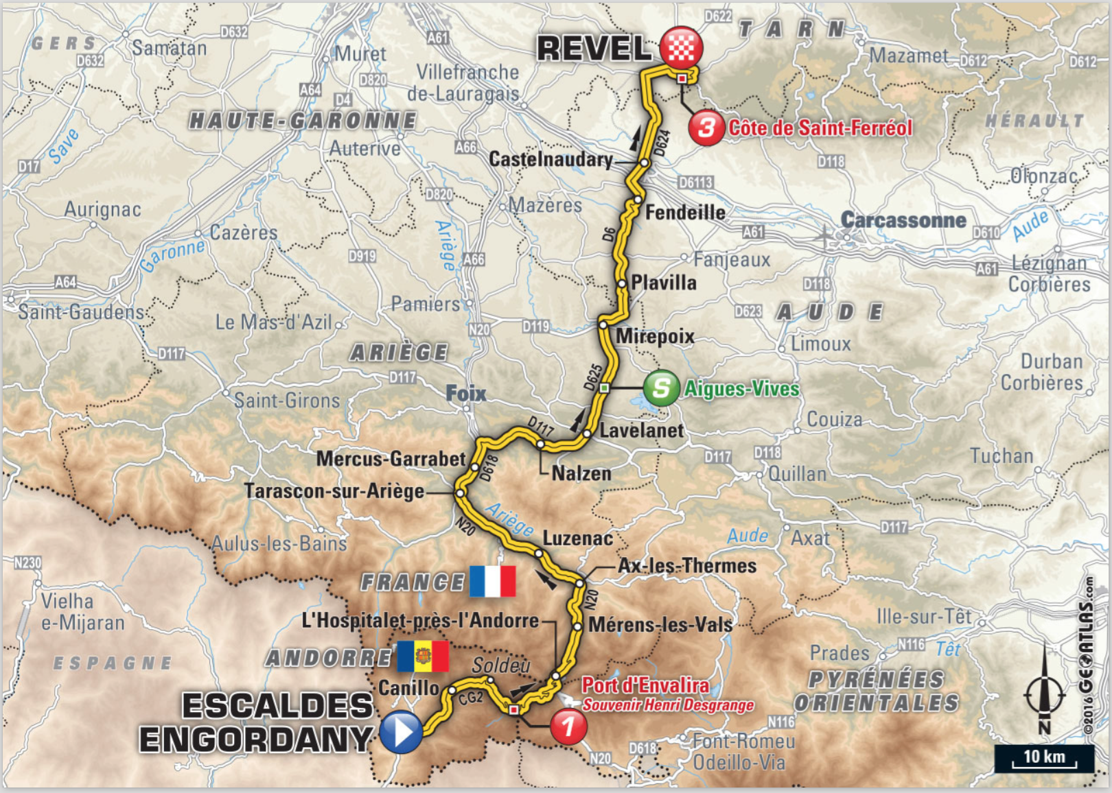 TDF2016-Stage10-Map