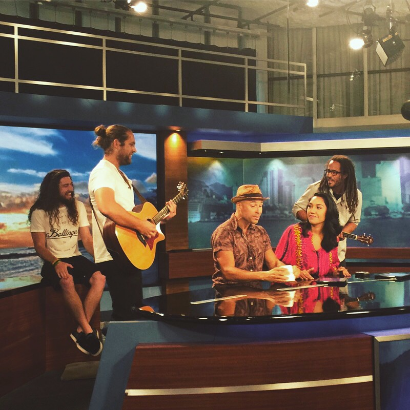 Live on the ABC Morning Show Hawaii