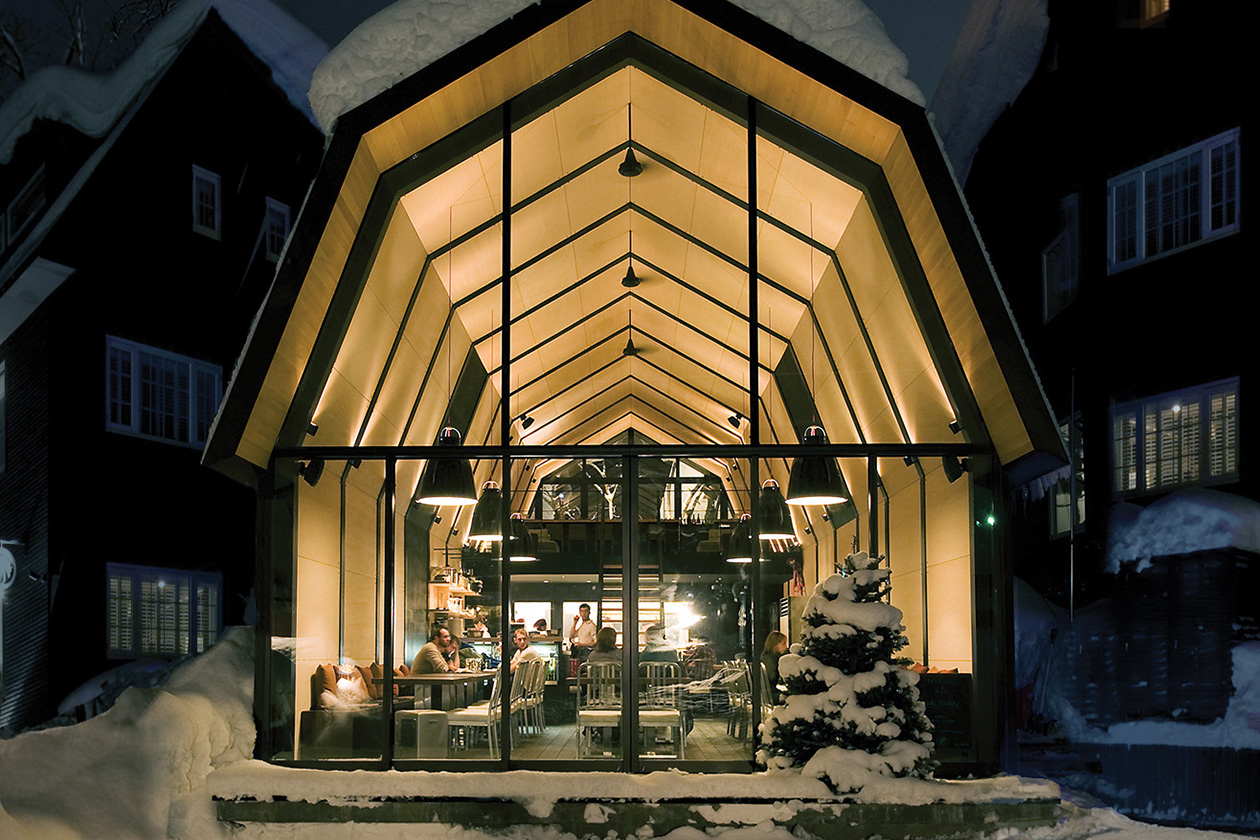 The Barn by Odin bistro attached to Kimamaya by Odin hotel