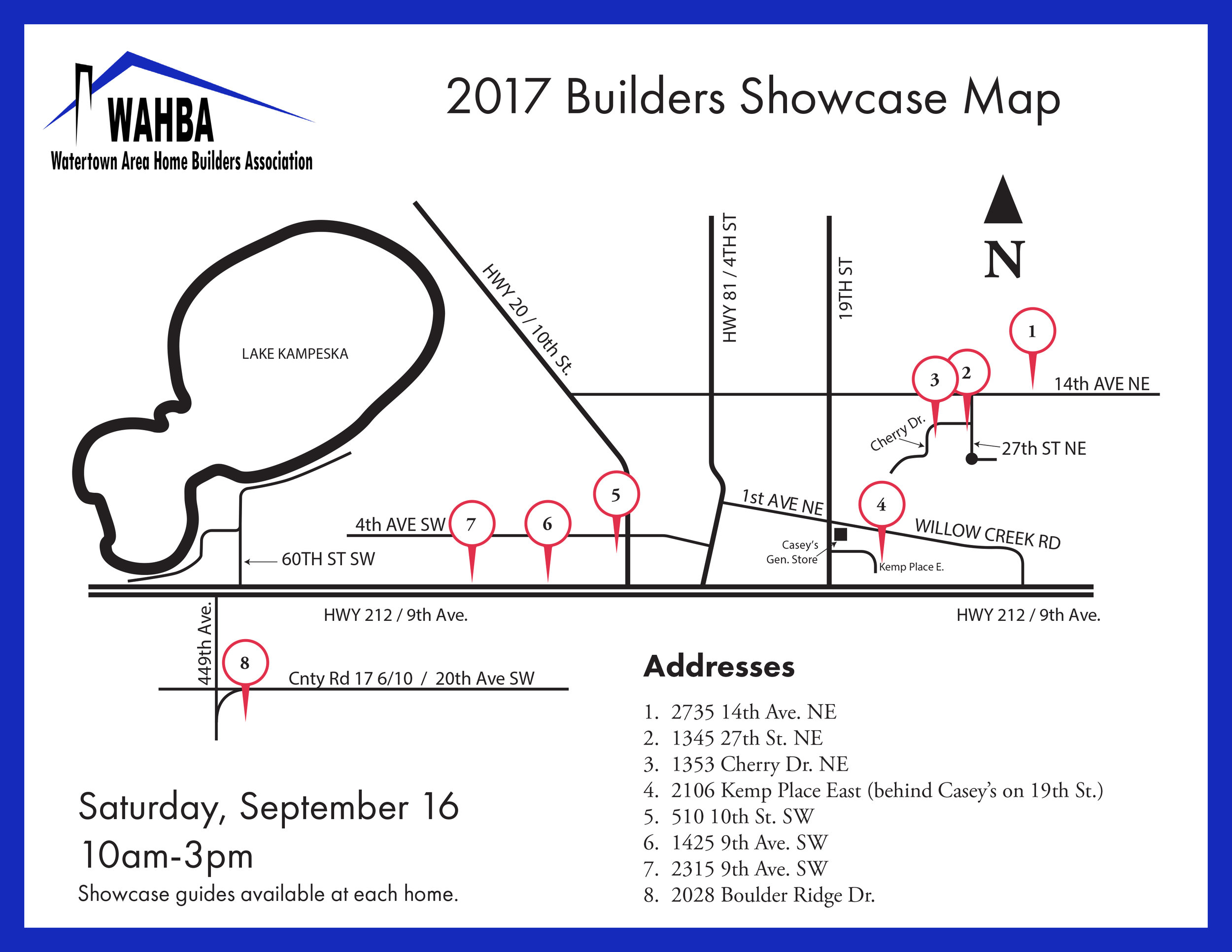 Click the image to download PDF of show map. -