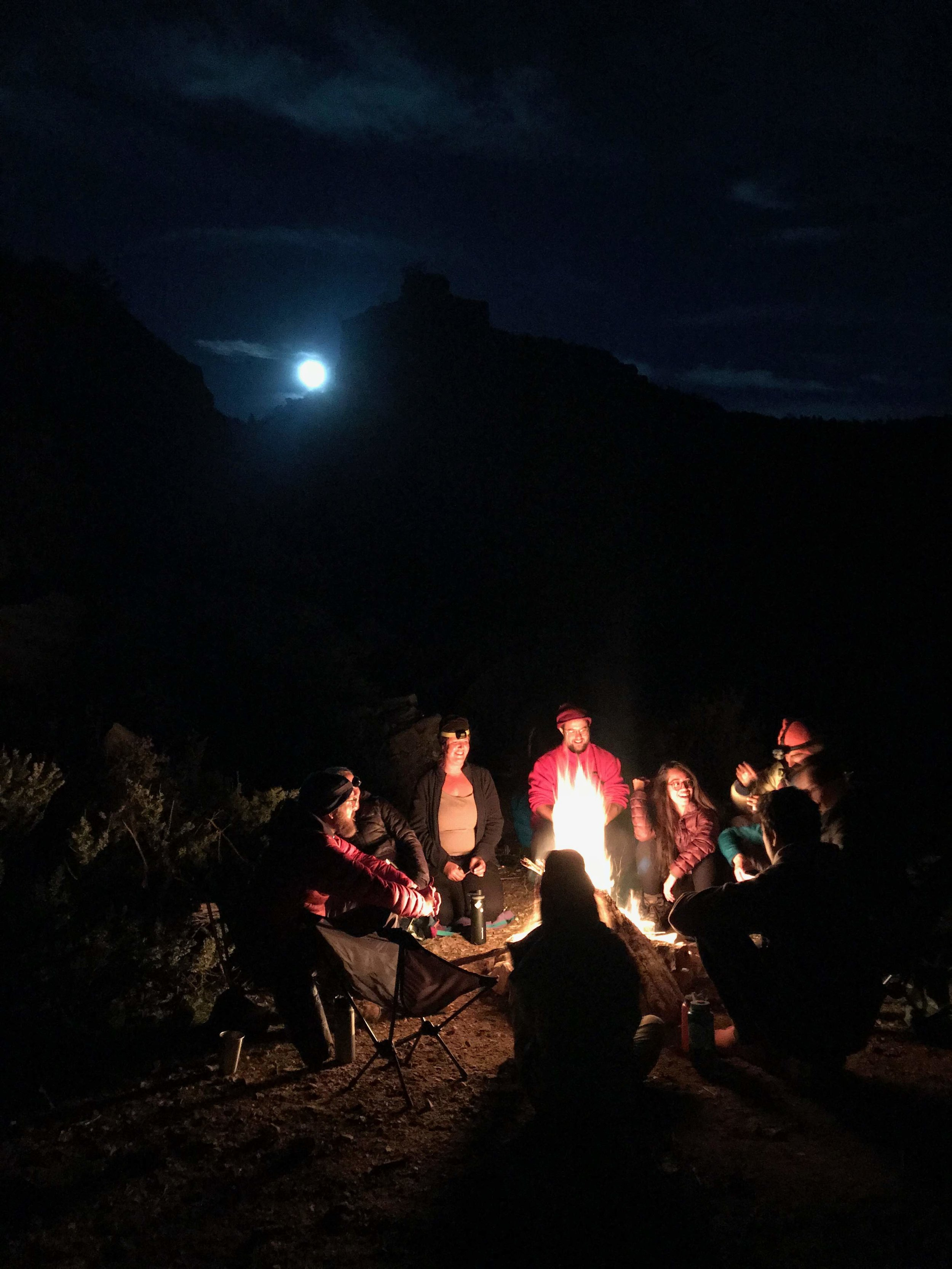 One of our last nights in the backcountry. Snake Gulch, AZ.