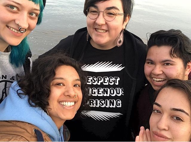 Our cohort of Indigenous artists, Port Townsend, WA. Photo credit: Rebecca Cesspooch