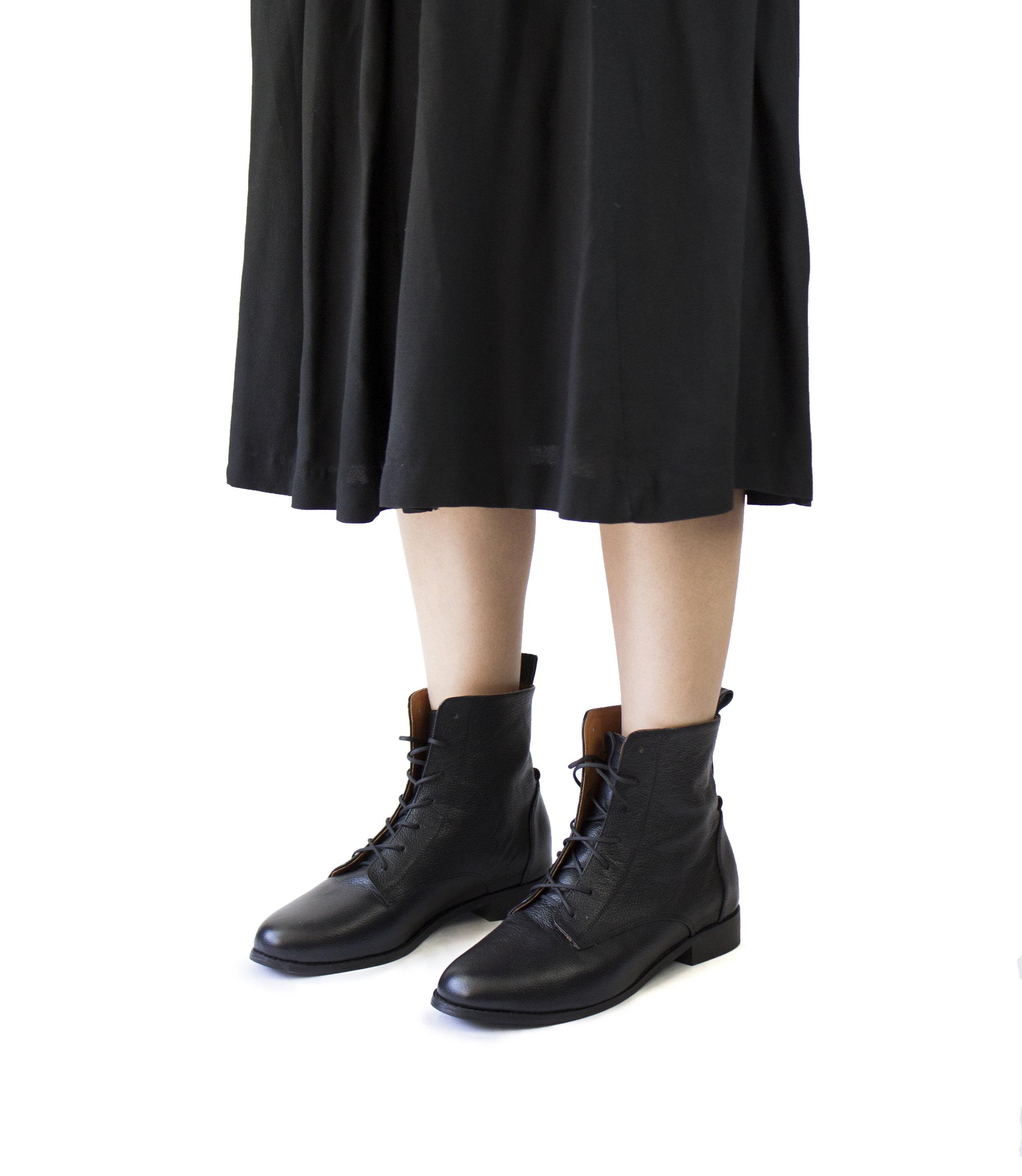 Botas negras dama