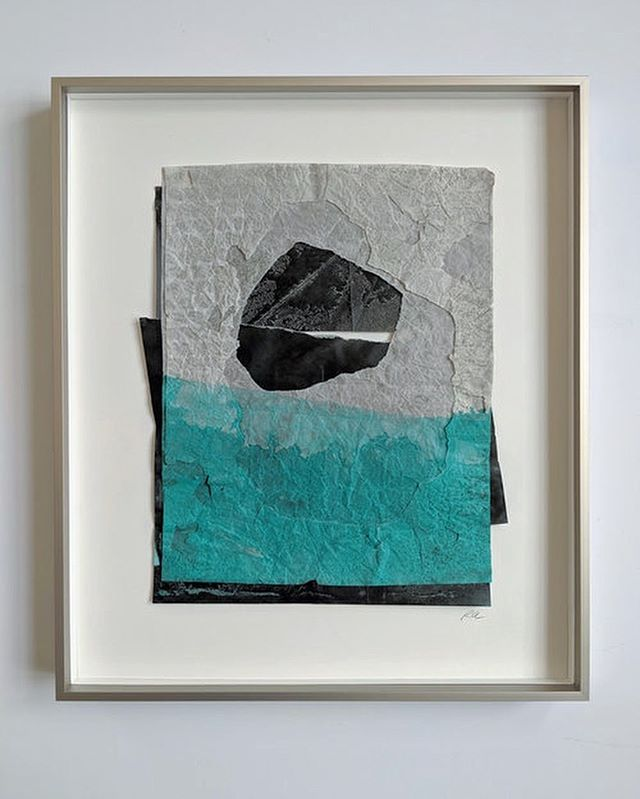 """Mirror, no. 7  ROBERTA AYLWARD  Ink on paper  14.25"""" x 12.25""""  Framed  On display for the month of June at Ford Gallery in Portland — 20% of sales benefit Columbia RiverKeeper!  Check out our online store www.therecycledrainproject.org/store $425"""