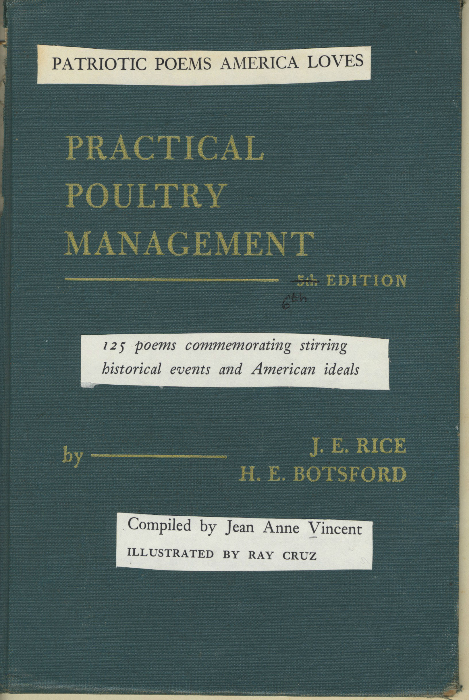 Patriotic Poems America Loves and Practical Poultry Management