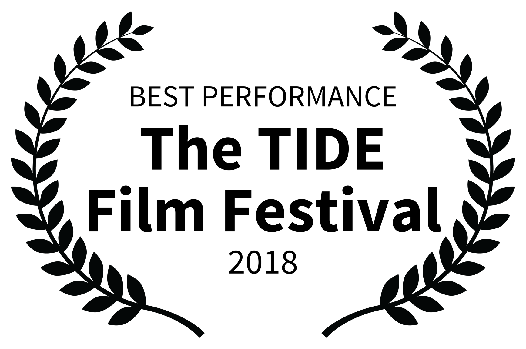 BEST PERFORMANCE - The TIDE Film Festival - 2018.png