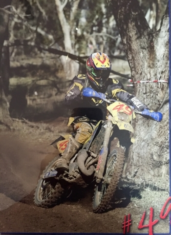 PIERS KENSLEY  Class - Off-road clubman.  Previous expert rider  Bike - Yamaha YZ250FX