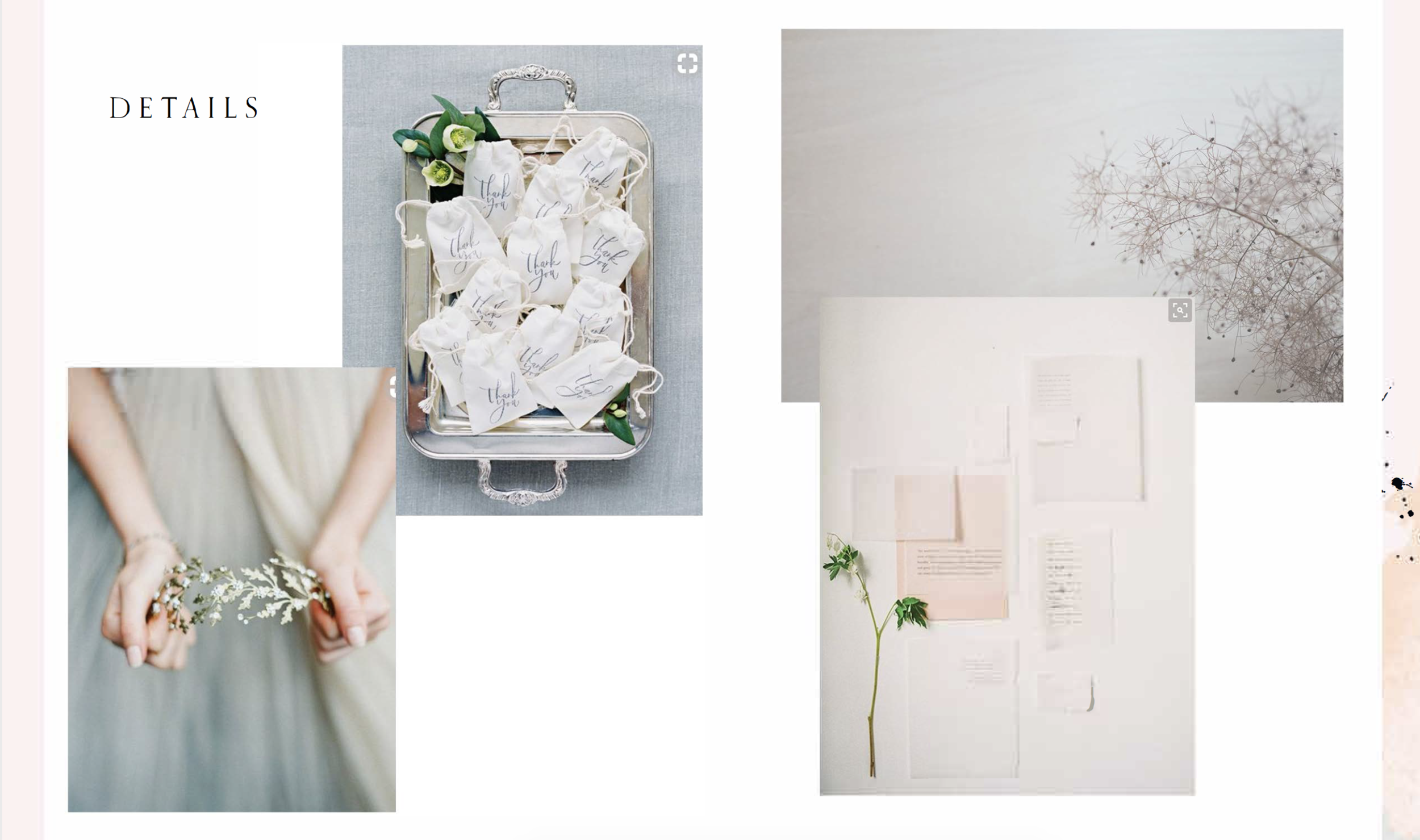 How I gather more details that don't always make it to the moodboard