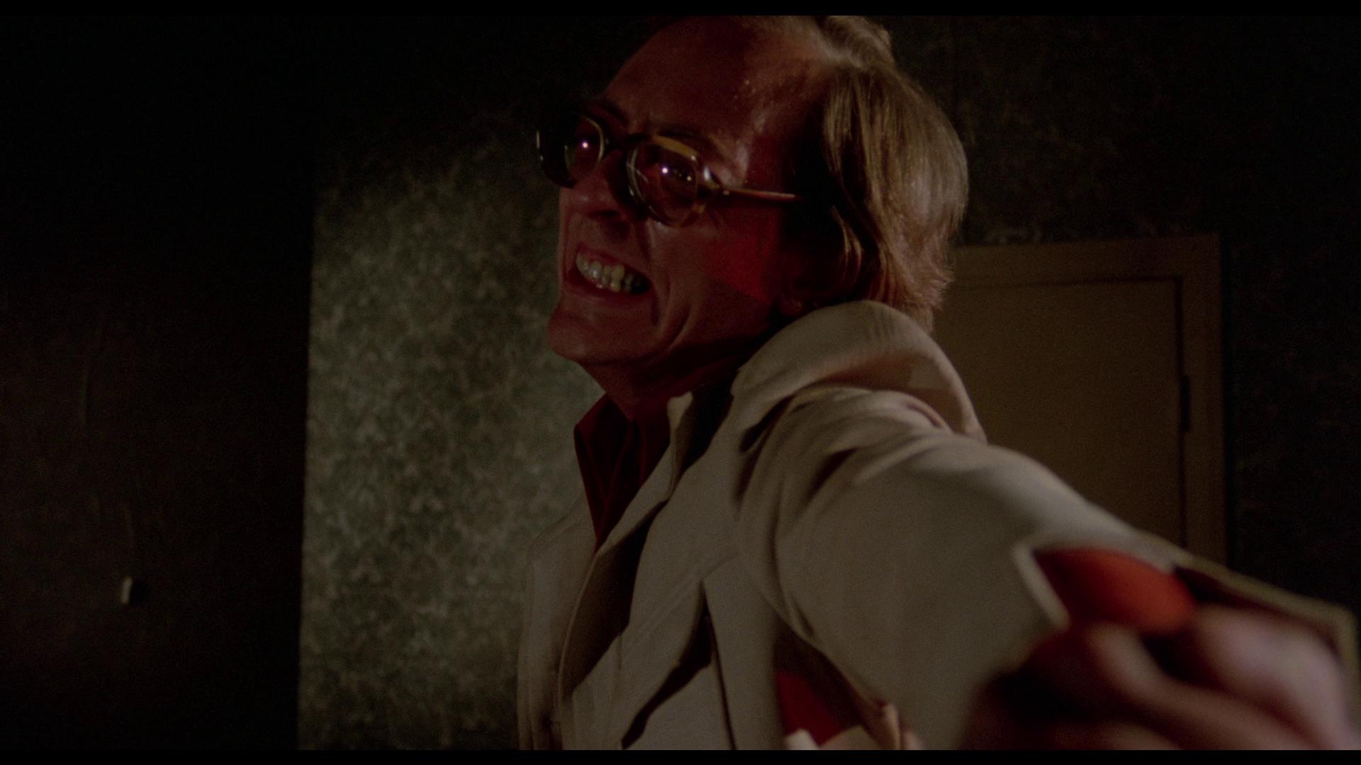 A powerful shot-reverse-shot between Burns and Finley.