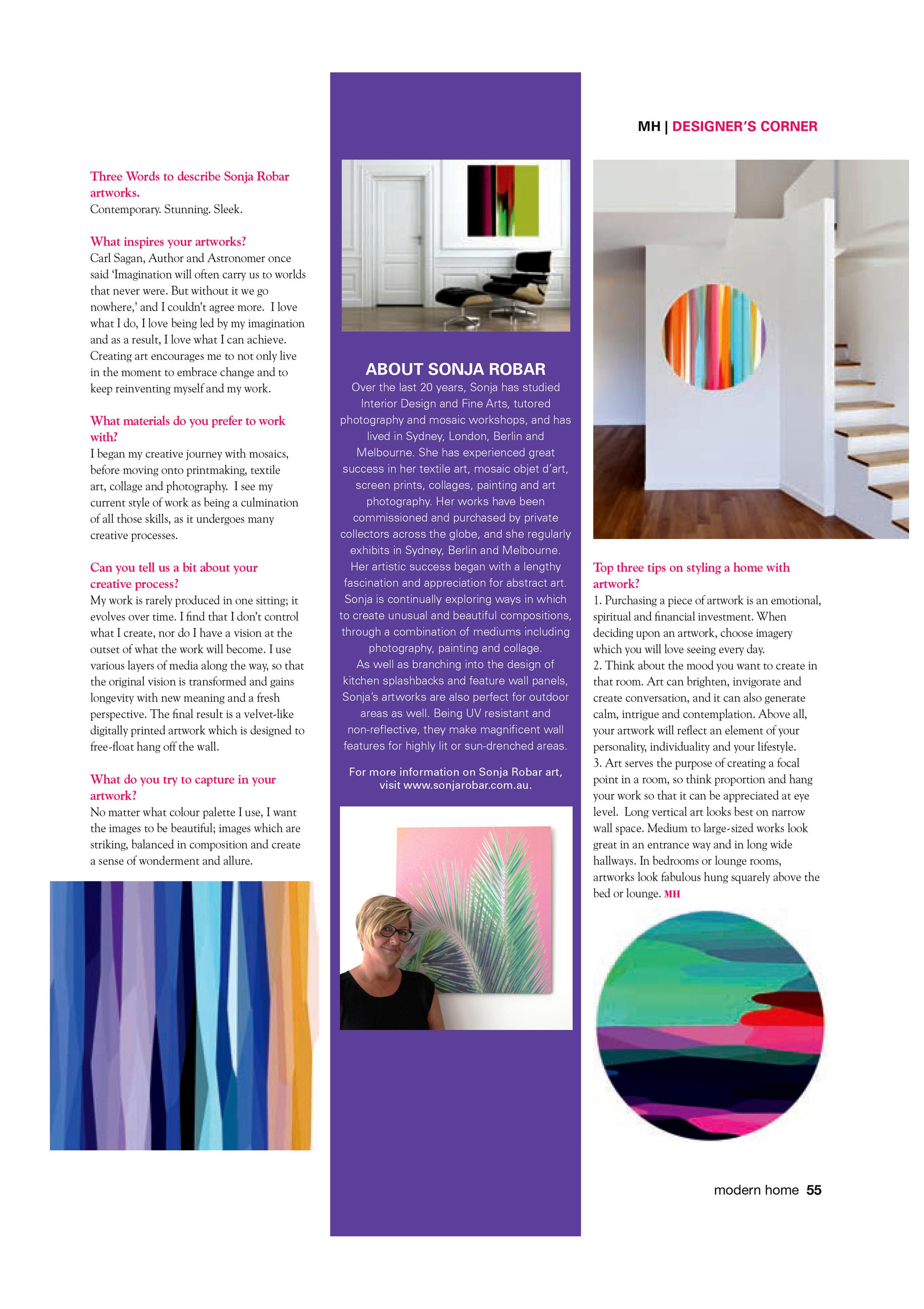 Australian Modern Home Magazine - December 2014