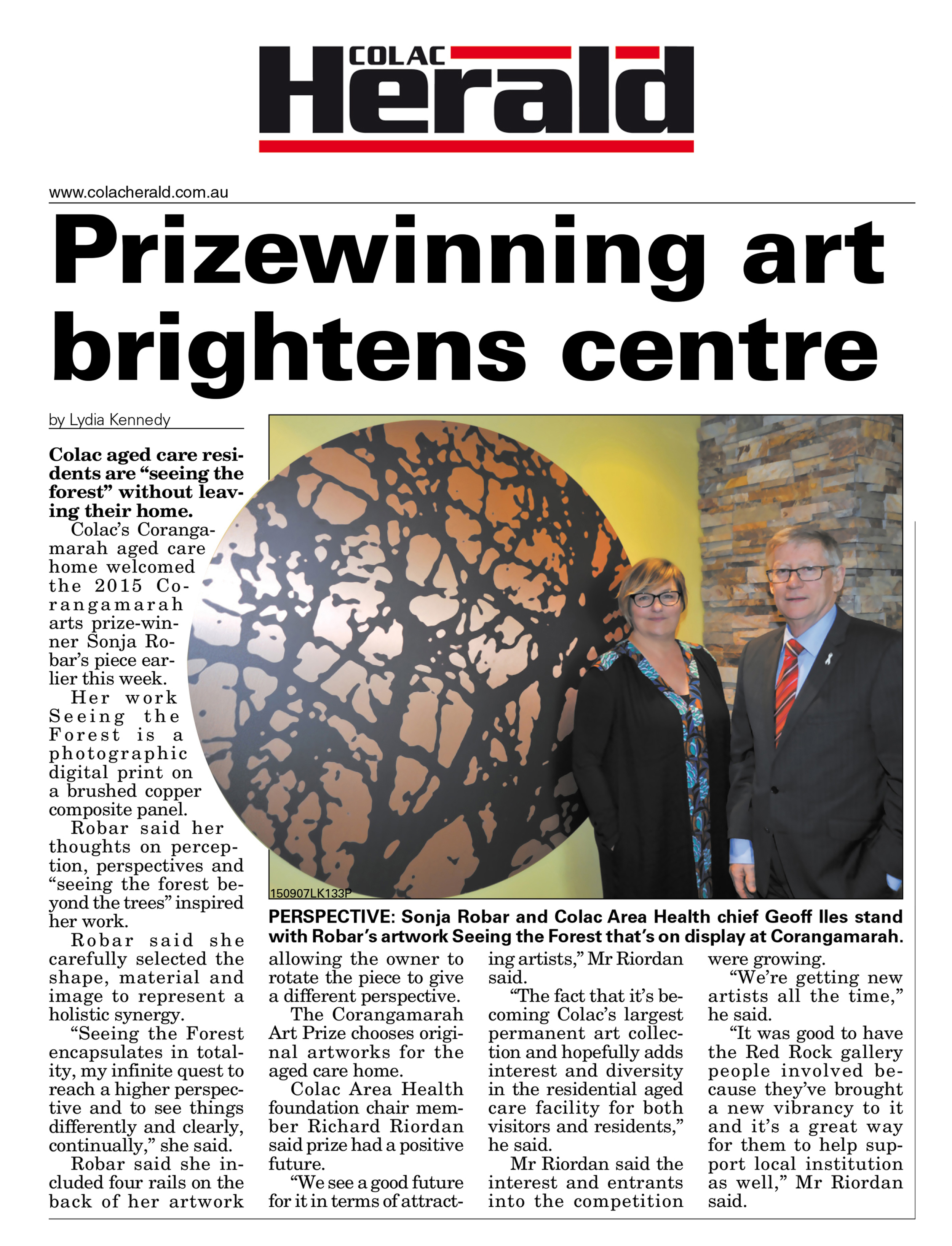 Colac Herald - August 2015