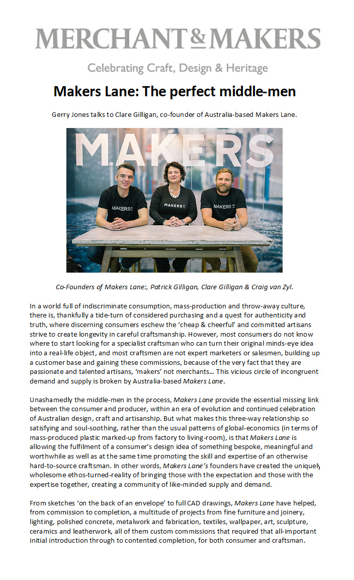 Merchant & Makers