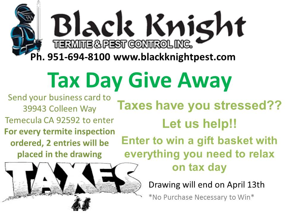 Tax Give Away