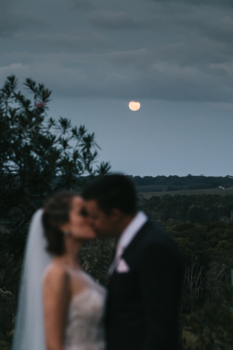 Full moon wedding at FigTree Restaurant