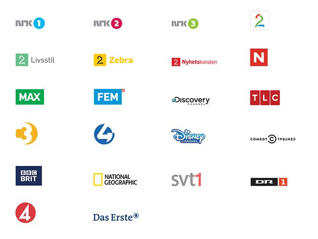 Kanalar i Get Digital Fritid.