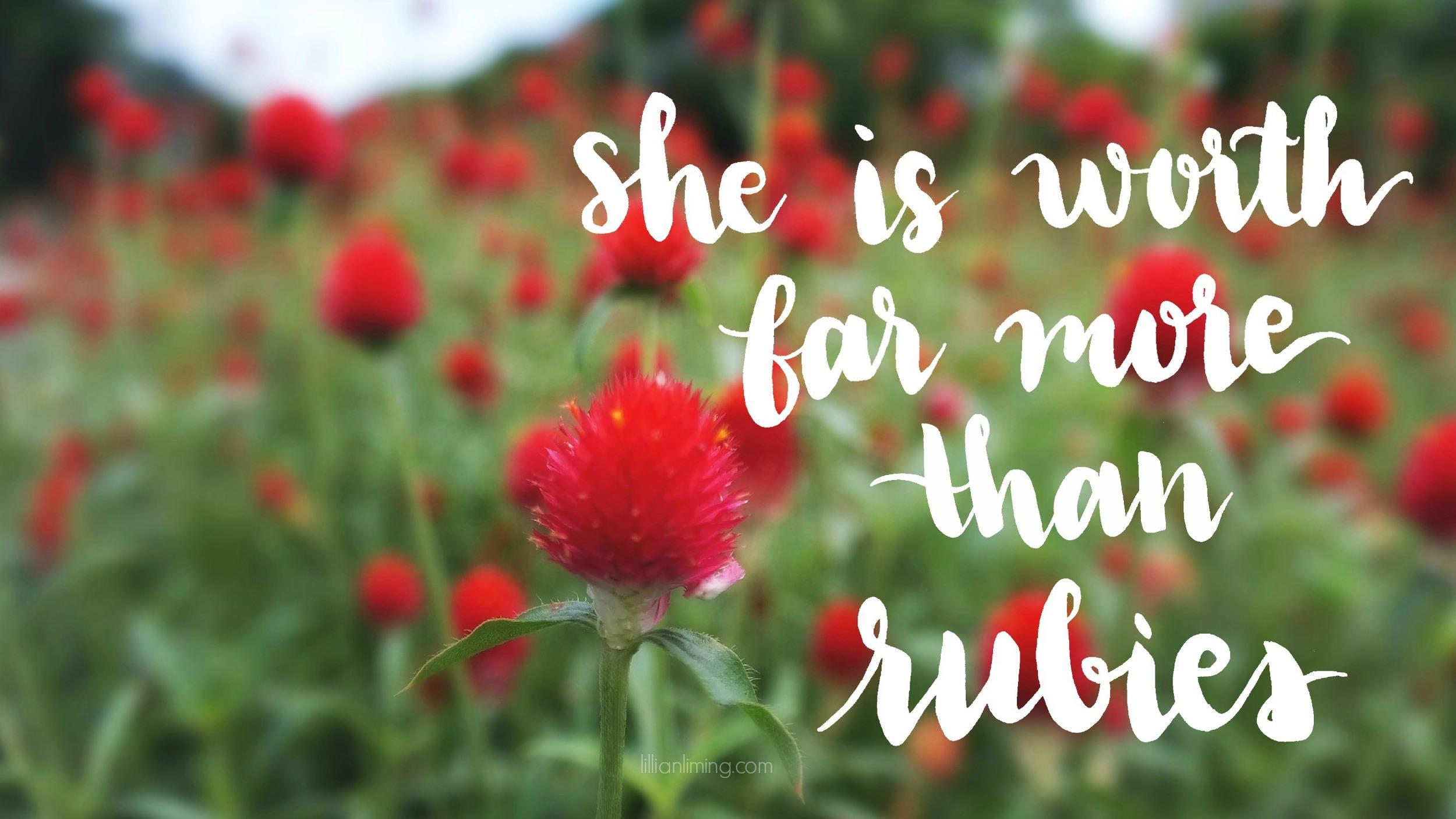 Free Download    DESKTOP WALLPAPER   Proverbs 31:10