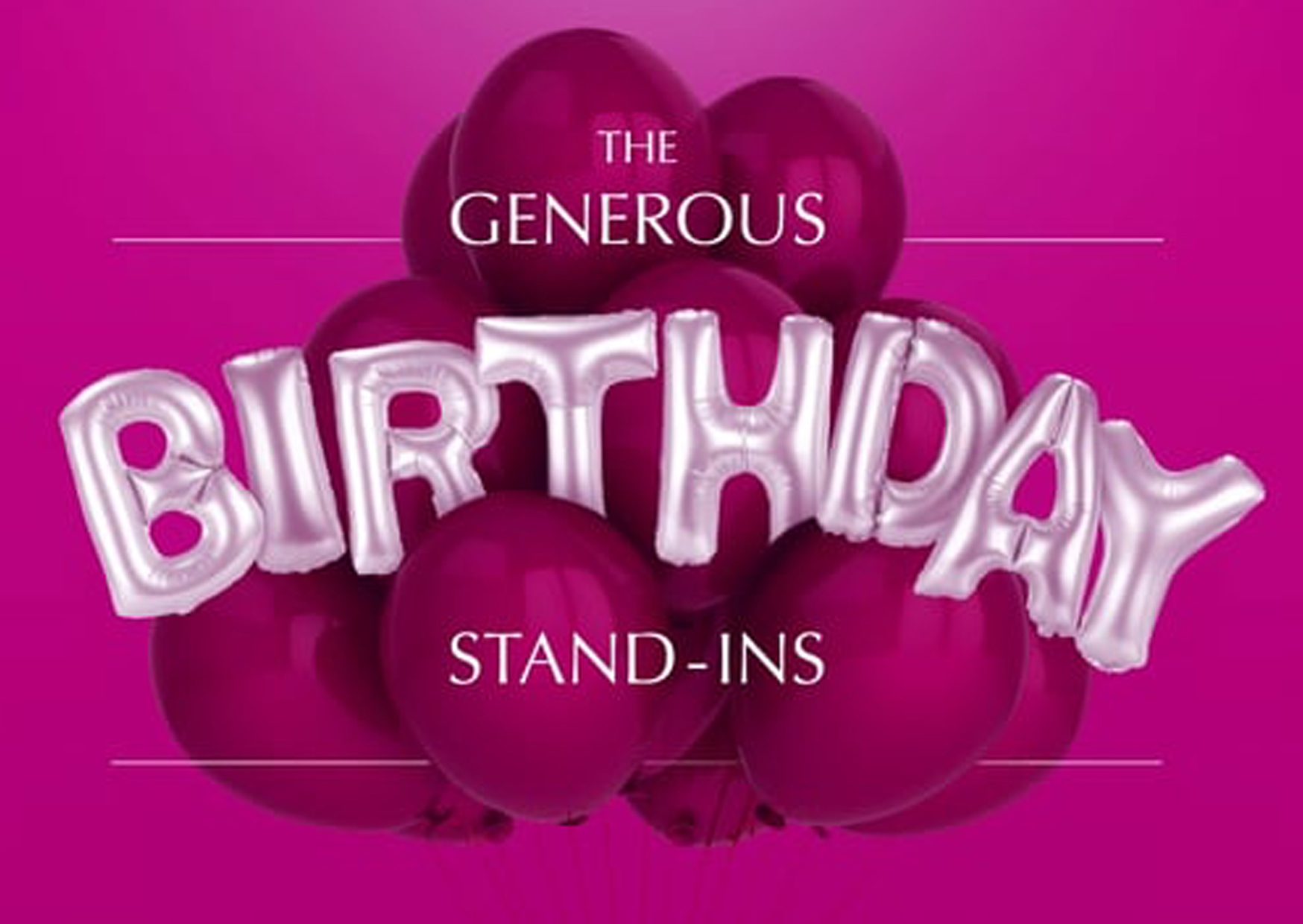 ANTHON BERG - The Generous Birthday Stand-ins