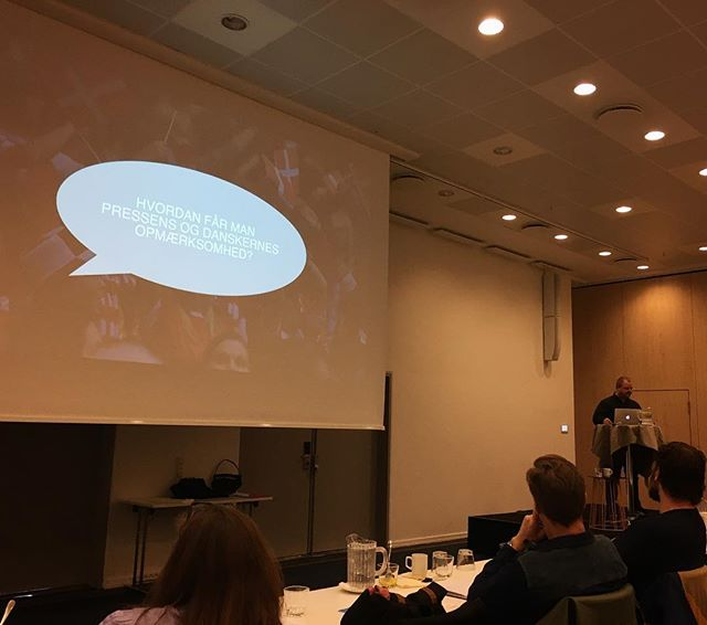 Hvordan får man pressens og danskernes opmærksomhed? #creativeworks #RBLM