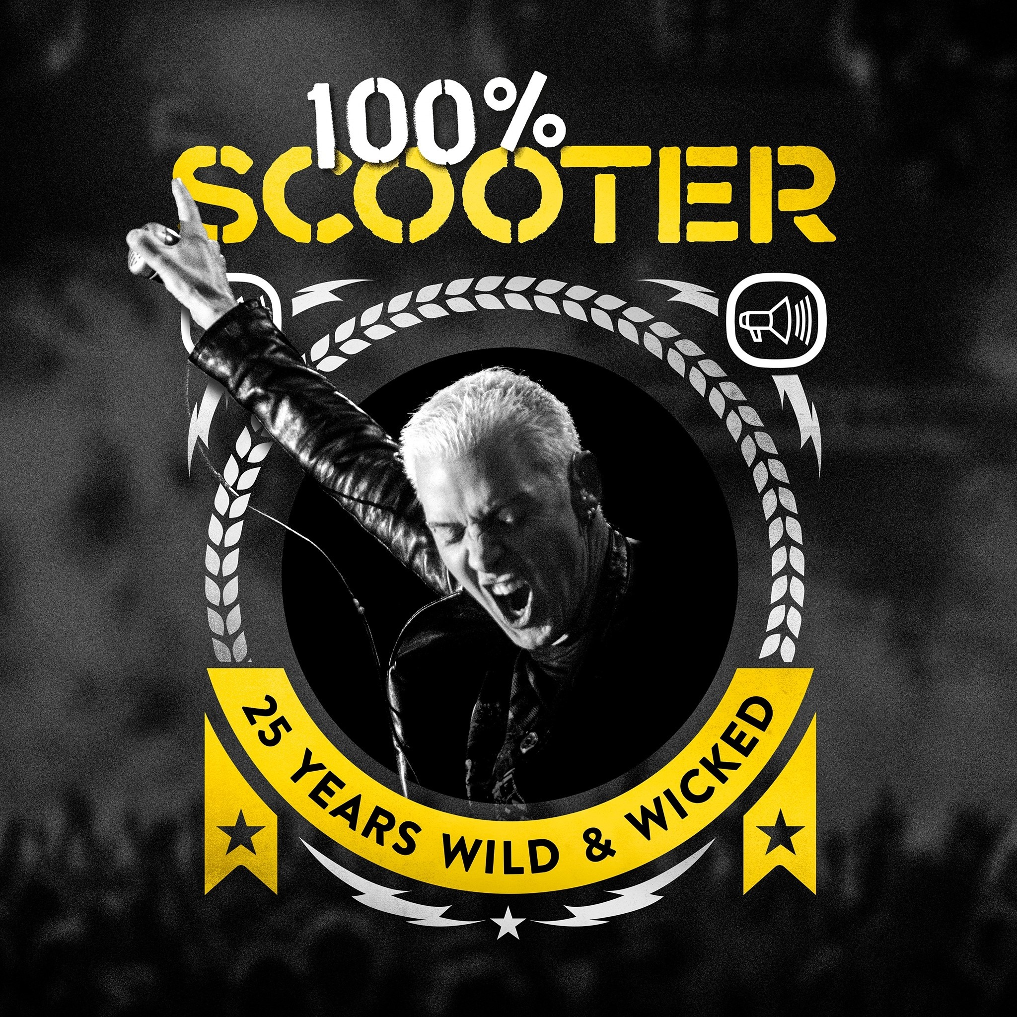 Cover photo on the 100% Scooter album