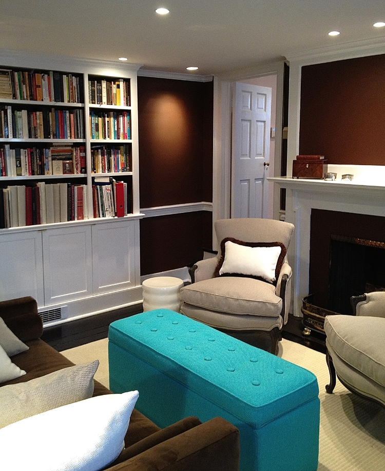 Home Library and Media Room