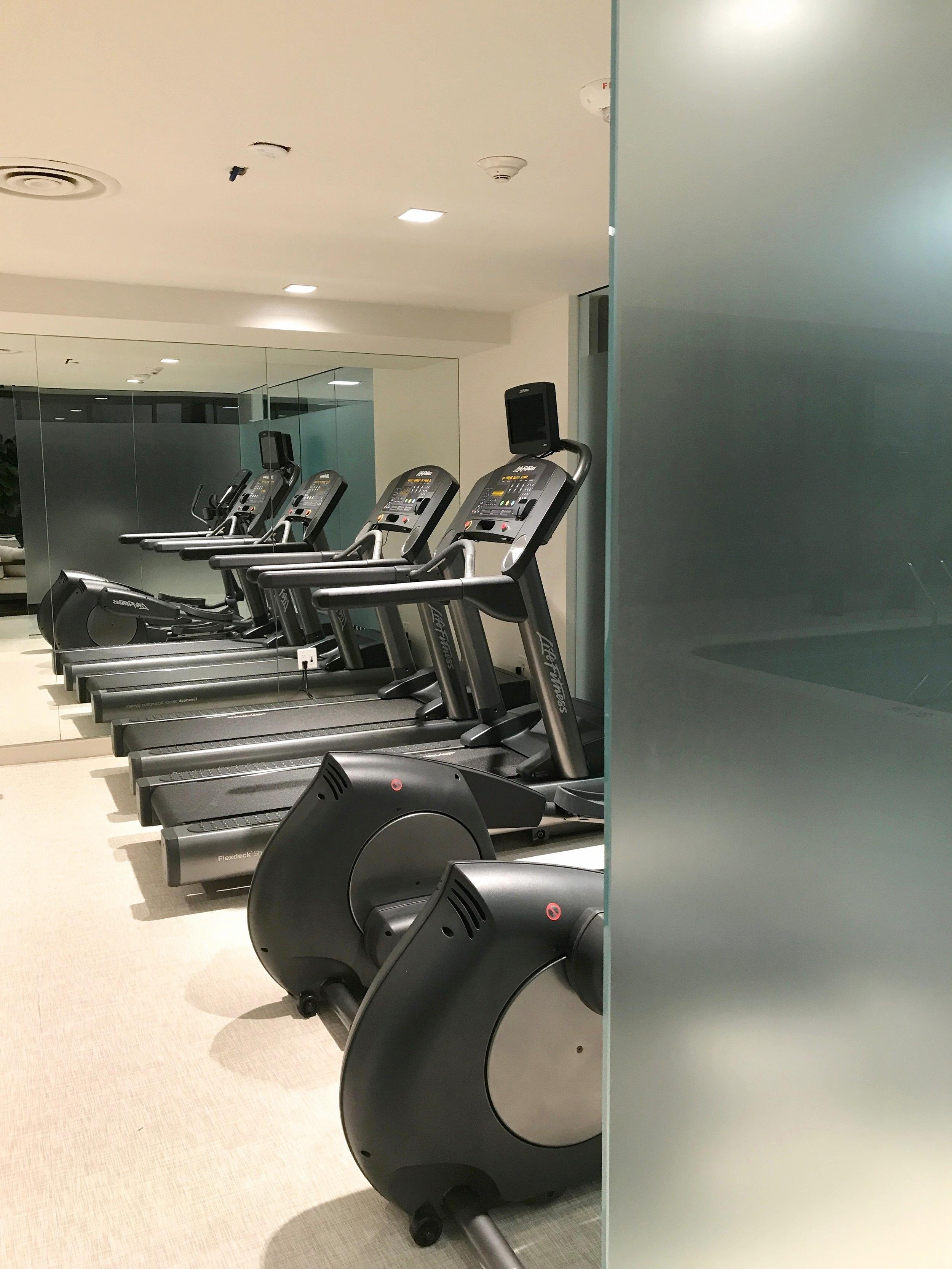 Cardio Fitness Room at Foxhall East Condominium