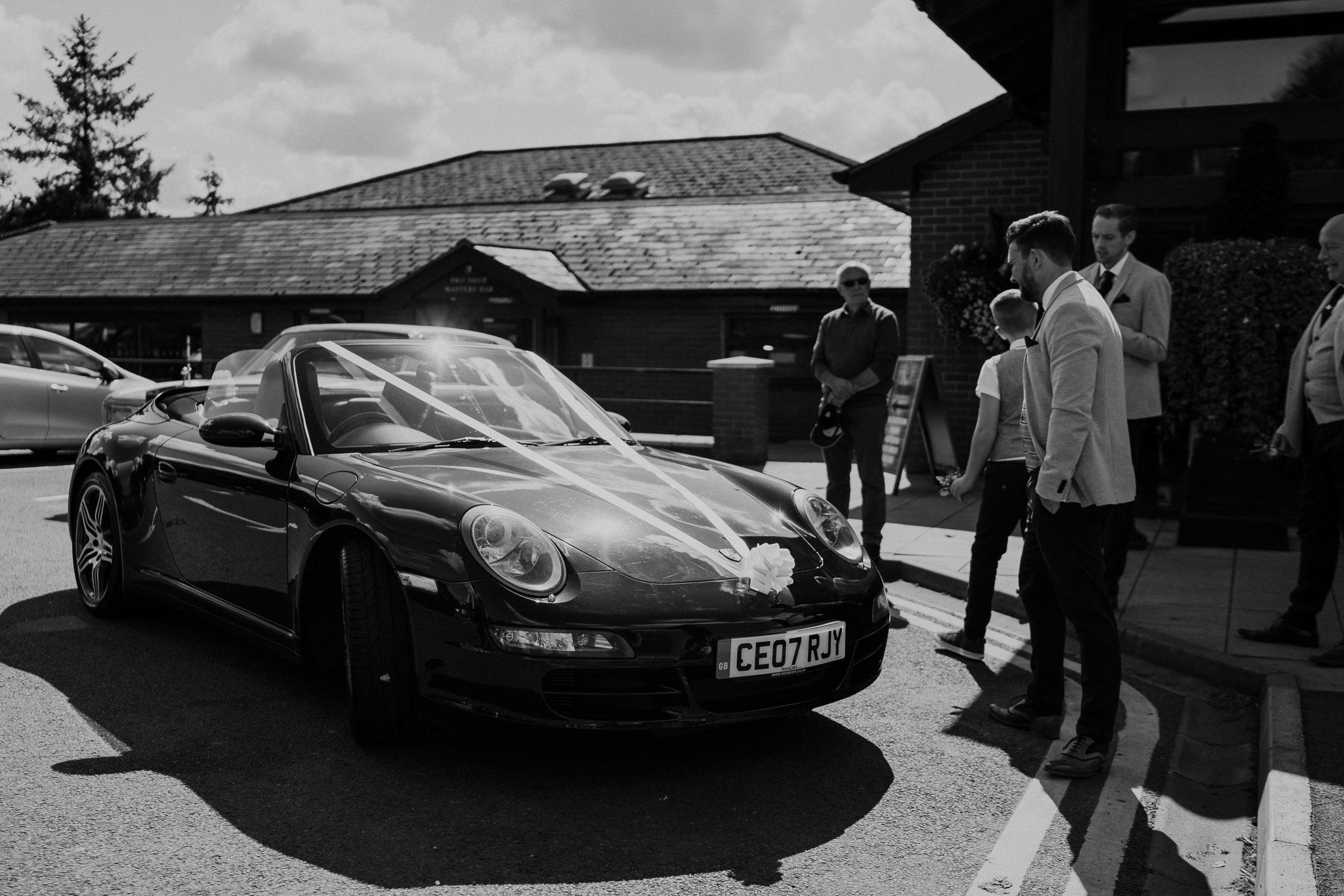 porche-wedding-car-shropshire