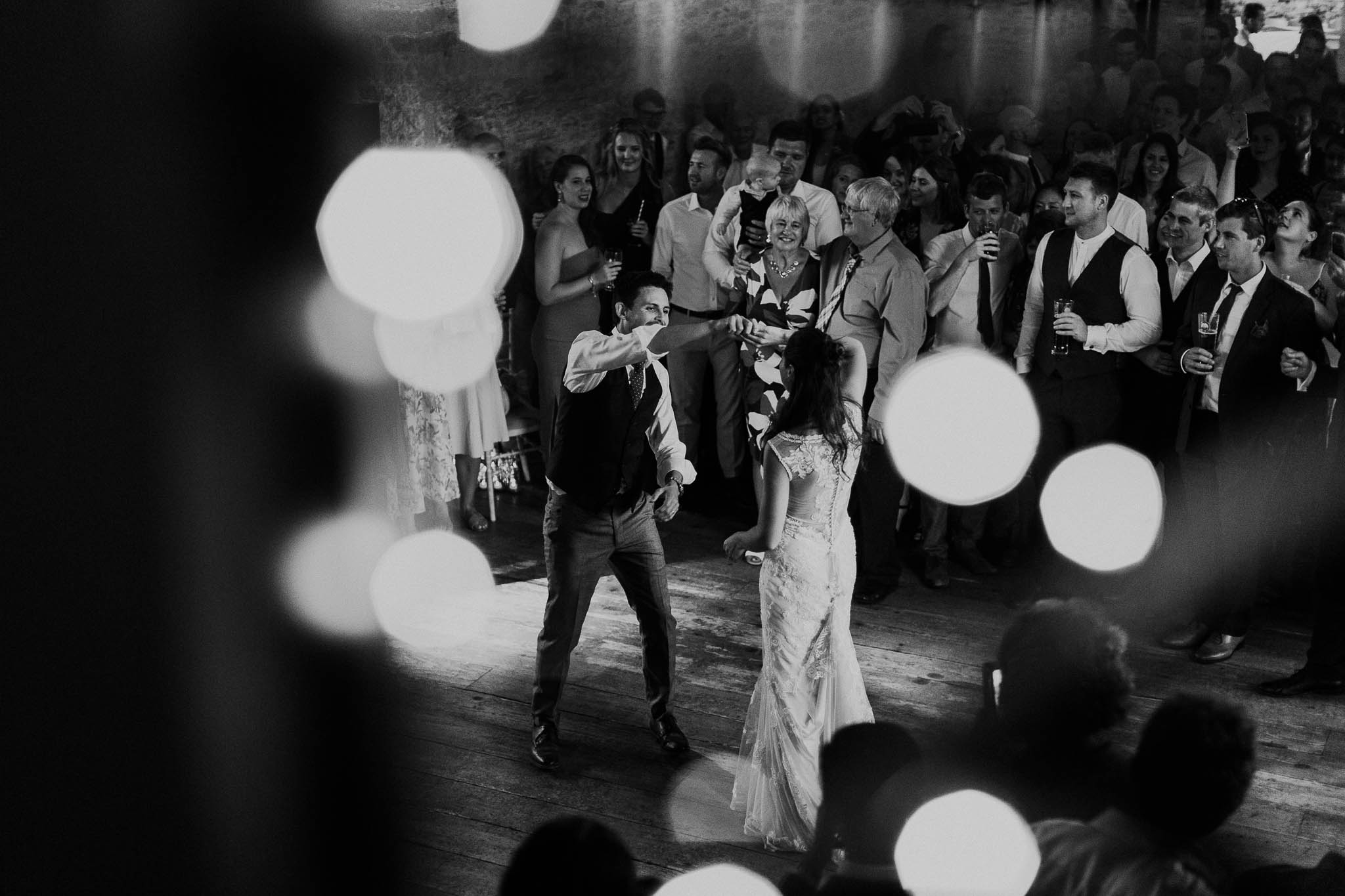 first dance with bokeh