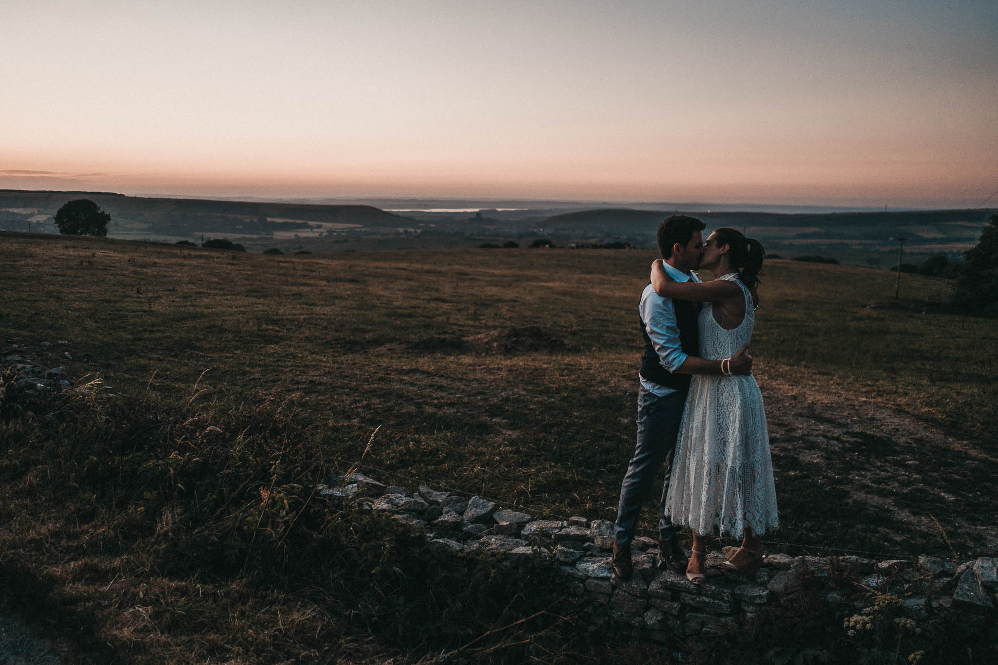 corfe castle wedding photography