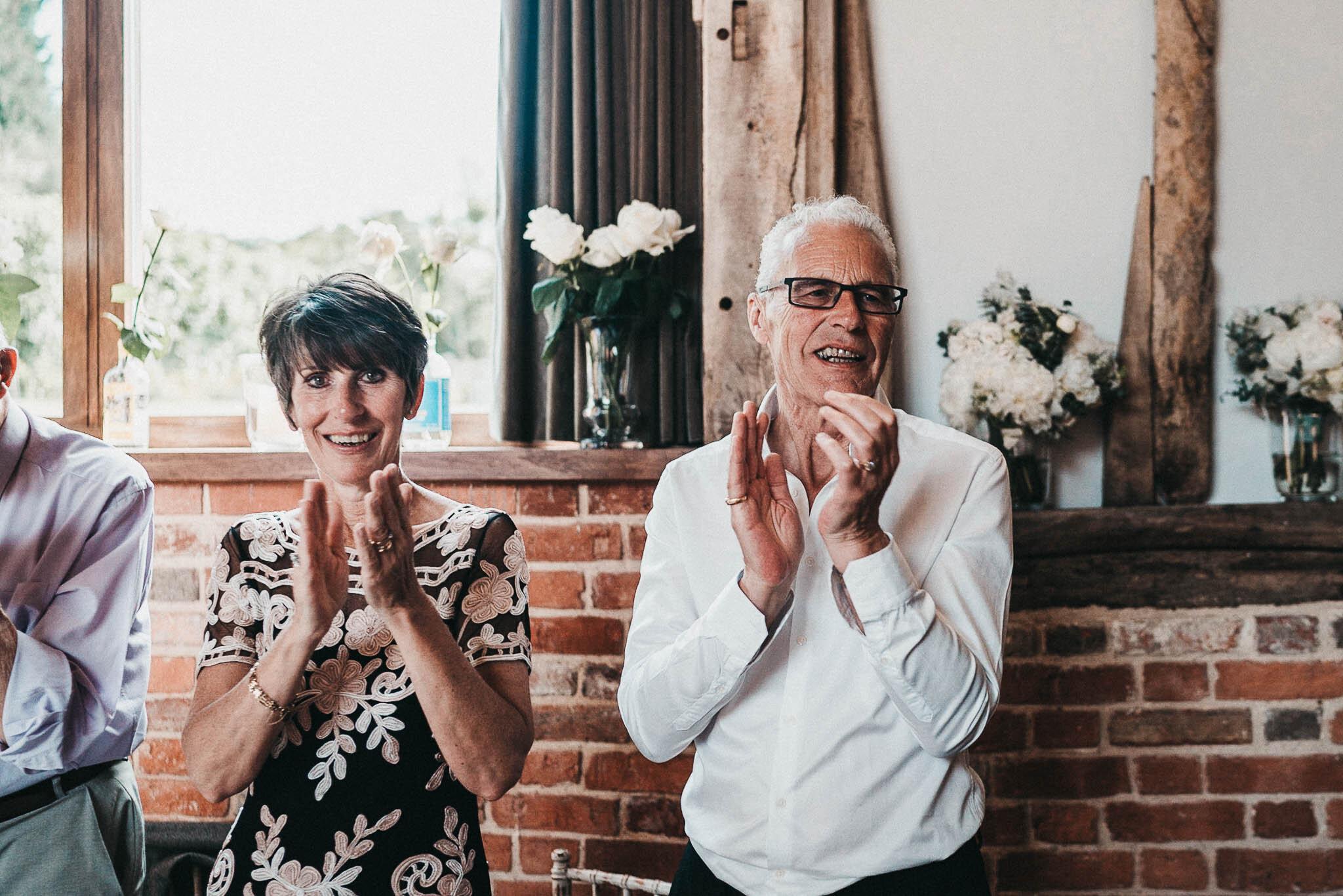 guests-applauding
