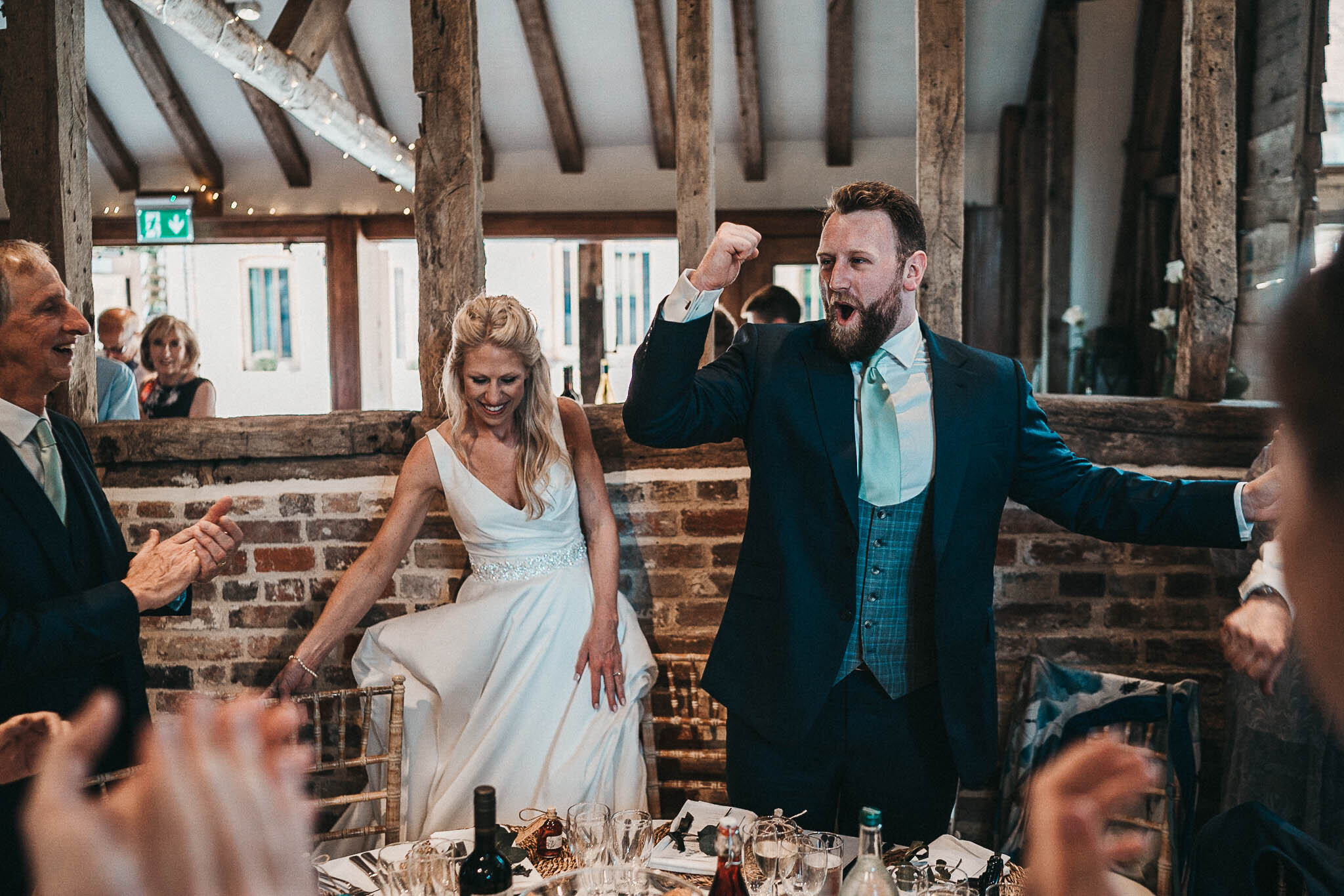 bride-and-groom-celebrating